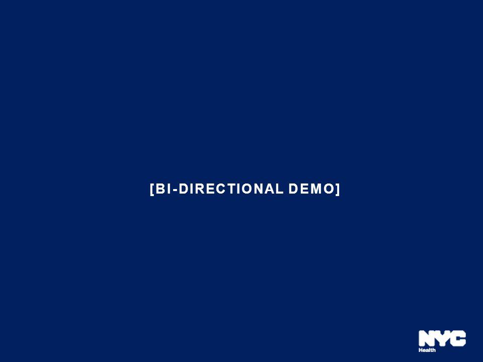 [bi-directional demo]